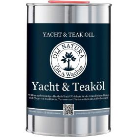 Oli Natura Yacht & Teaköl Farbe Natur 1 Liter...