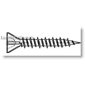Schnellbauschraube für Gipsfaserplatten mit...
