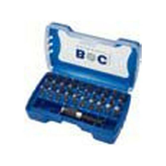 """Schrauber-Bits 1/4"""" Schaft in Kunststoff-Box PB 32 32-tlg. PZ 1 + 2 + 3 / PH 1 + 2 + 3 / Tx 10 - 40"""