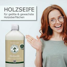 OLI NATURA Holzseife Wischpflege Holz - Parkett 1 Liter