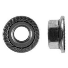 Flanschmutter M8 DIN 6923 ISO 4161 Sperrverz. Edelstahl...