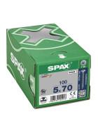 SPAX Senkkopf T-STAR plus - Vollgewinde WIROX A3J  T20  -  5x70  -  100 Stk
