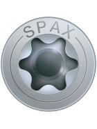 SPAX Senkkopf 8 mm T-STAR plus - Vollgewinde WIROX A3J  T40  -  8x500  -  25 Stk