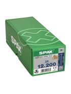 SPAX Senkkopf 12 mm T-STAR plus - Vollgewinde WIROX A3J  T50  -  12x200  -  25 Stk