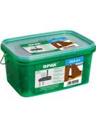 SPAX Terrassenträger Stick pro, unsichtbare Befestigung für Holzterrassen