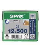 SPAX Senkkopf 12 mm T-STAR plus - Vollgewinde WIROX A3J  T50  -  12x500  -  25 Stk