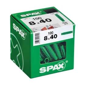 SPAX Dübel Typ-SD 8,0 x 40 mm 100 Stück