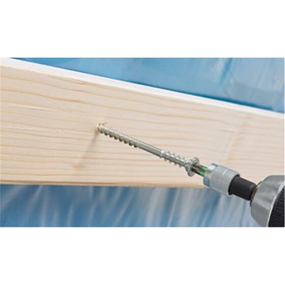 400 Stk Terrassenschrauben 5 x 70 mm f/ür Terrassenbau Edelstahl rostfrei Holzdielen