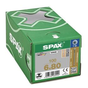 SPAX Justierschraube 6 x 80 - 100 Stk