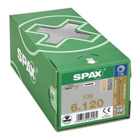 SPAX Justierschraube 6 x 120 - 100 Stk