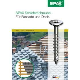 SPAX Schieferschraube A2 - 4,0 x 34 mm - 500 Stk