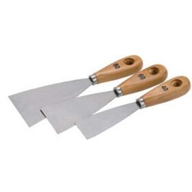 Malerspachtelsatz 3 tlg 40, 60 und 80 mm breit
