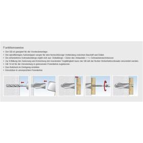 Fischer Gasbetondübel GB 8 für 5 mm Schrauben 5...