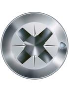 FEX-H Senkkopf Kreuzschlitz Z, 4CUT, Bremsrippen, gehärtet, gleitbeschichtet, Teilgewinde, WIROX A3J  PZ2  -  4x35  -  1000 Stk