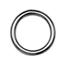 Ring, geschweißt, poliert 4x25  M-8229  Edelstahl...