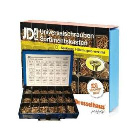 Dresselhaus 8627 JDPlus Universalschraube TX, SK gelb...