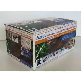 FixeGo für Dielen >25mm, Komplett-Set, inkl. 200...