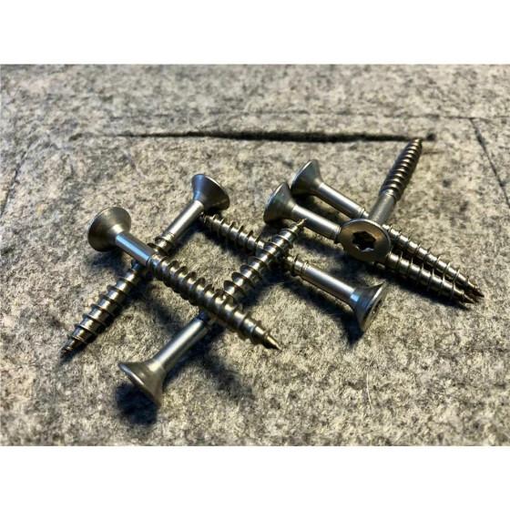 Spanplattenschraube Edelstahl A2 SK, TG, TX20 4,5x80  - 500 Stk