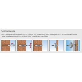 fischer Universaldübel FU 8x40