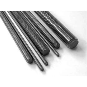 Gewindestange 4.6 DIN 976 Stahl galv. verzinkt 1m