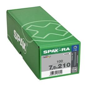SPAX-RA Zylinderkopf T-STAR plus Vollgewinde WIROX A3J  7,5x210 - 100 Stk