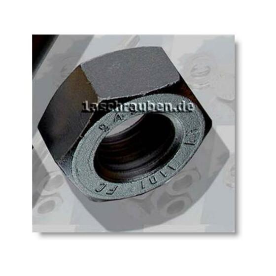 HV-Sechskantmutter Kl.10 DIN 6915 HV-feuerverz. (tzn) M27 1 Stk