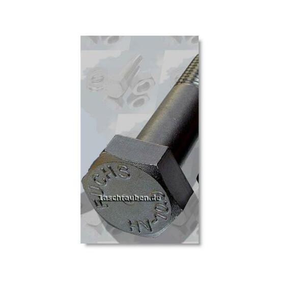 HV-Sechskantschraube 10.9 DIN 6914 f.verz. 12x80  1 Stk